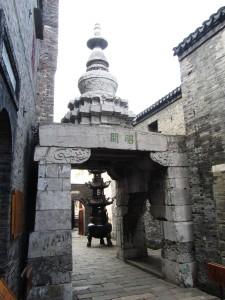 Pagoda am Zhaoguan Tempel