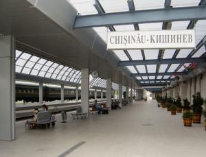 Chisinau Hauptbahnhof (© Markv / Wikimedia Commons)