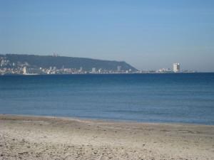 Die Haifa-Bucht von Kiryat Haim