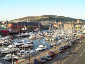 Sporthafen von Swansea