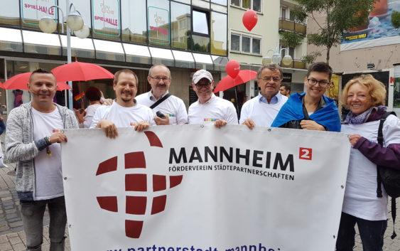 Förderverein bei der CSD-Parade 2017