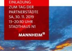 Tag der Partnerstädte am 30.11.2019