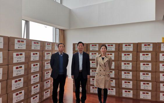 Mannheims chinesische Partnerstädte helfen bei der Beschaffung medizinischer Schutzausrüstung