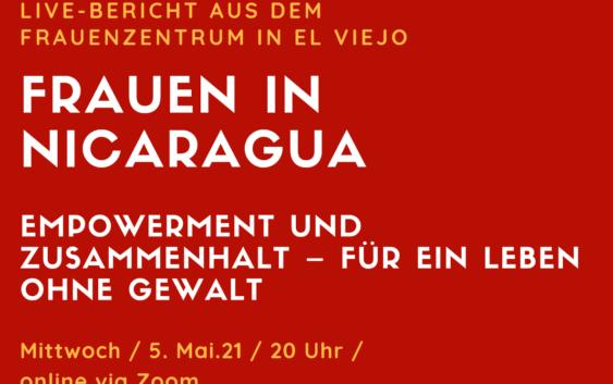 Frauenzentrum El Viejo: online-Veranstalung am 5.5.21